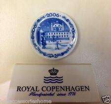 Plaque - Christmas plate 2006 - Fredensborg Palace - Letter - Royal Copenhagen