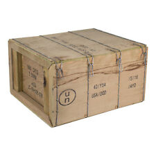 5 - M2A1 M2A2 50cal Size 5.56 Military/USGI Surplus Wood Ammunition/Ammo Crates