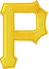 Pittsburgh Pirates Baseball Embroidered Iron Patch - Free Shipping