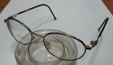 "EYE Q Cindy Amber Eyeglasses FRAMES 51[]18 140 Narrow 5"" wide"