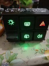 Kit illuminazione pulsantiera fiat panda 4x4 4x2 trekking sisley hobby young ecc