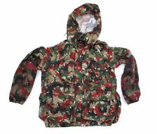 "Swiss Army Jacket 40""-42"" Large : Alpenflage Camo : Shooting Fishing Larp ref 56"
