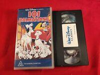 VHS Tape Disney 101 Dalmatians