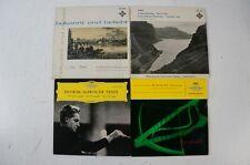 Rossini Dvorak Grieg von Karajan Keilberth van Kempen 4 Singles Konvolut (LP32)