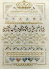 Victoria Sampler CROWNING GLORY Easter Egg - Thea Dueck - CHART ONLY