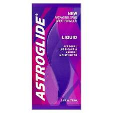 Astroglide Water Based Personal Sex Lube Lubricant 2.5 Oz