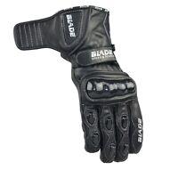 Blade® Leather Motorcycle Gloves Motorbike Waterproof Thermal Winter Summer