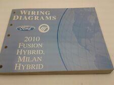 2010 Ford Fusion, Milan Hybrid Wiring Diagrams manual FCS-21028-10