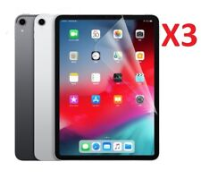 3 X For Apple iPad Pro 11 Screen Protector Guard Ultra Clear (2018) 11.0""