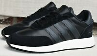 ADIDAS I-5923 - New Men's Leather Iniki Shoes Originals Black White Sneakers