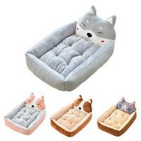 Cute Pet Winter Dog Bed Sofa Soft Warm Cat Bed House Cartoon Cushion Pet Dog Bed