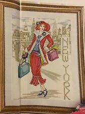 Joan Elliott Manhattan Fashion New York Fashion Lady Cross Stitch Chart