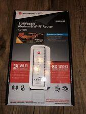 Motorola ARRIS SURFboard Modem & Wi-Fi Router AC 1600 SBG 6700-AC