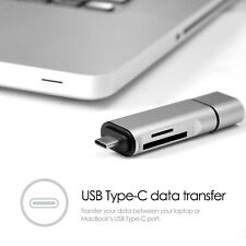 USB-C USB 3.1 Type C USB 3.0 OTG Card Reader Adapter for SD Micro SD 5 in1