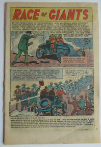 Vol. 5 # 19 1973 HOT RODS & RACING CARS COVERLESS COMIC - good - c/sh