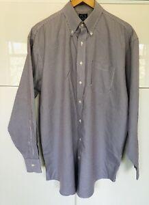 """JoS. A. BANK Traveler's Collection 100% Cotton Mens Shirt 16.5"""""""