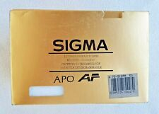 SIGMA LENS 70-210MM F4-5.6 APO for CANON AF. OBJETIVO. BRAND NEW!