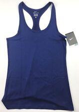 Nike Womens Size Large Royal Blue Dri FIT Balance Athletic Tank Top