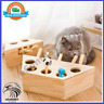 Cat Hunt Play Chase Mouse Wooden Interactive Maze Pet Hit Hamster Hunting Toy