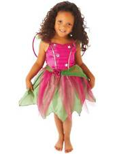 Children's Girl's Mulberry Fairy Fairytale Halloween Fancy Dress Costume 1-8 Yrs