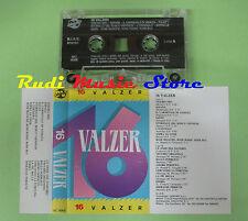 MC 16 VALZER italy DV MORERECORD MC 9068 no cd lp dvd vhs