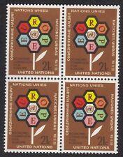 United Nations New York Scott # 231 Block Of 4 Stamps M OG NH