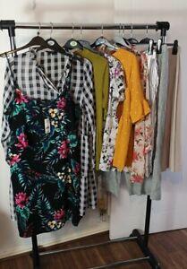 Womens Ladies Clothes Bundle Size 20 Skirt Pants Blouse Shirt Top Dress  X2
