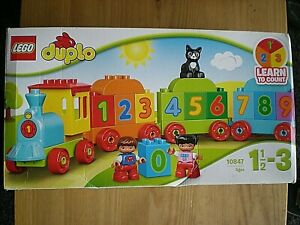 LEGO - DUPLO - LEARN TO COUNT - 10847 - AGES 1 - 3 - OPENED BUT NOT USED
