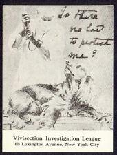 1930-40s Vivisection Investigation League