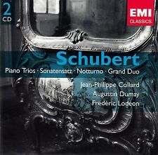 SCHUBERT : KLAVIERTRIOS U.A. - COLLARD, DUMAY, LODEON / 2 CD-SET - TOP-ZUSTAND