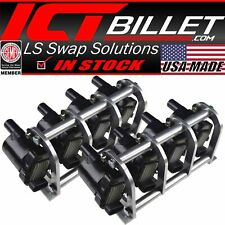 LS Remote Mount Coil Relocation Brackets D585 LSX LS LQ4 LQ9 Swap Billet