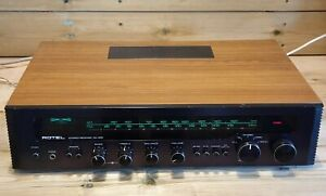 Vintage Rotel RX-402 Stereo Receiver Amplifier 2 & 4 Channel AM/FM Ex Condition