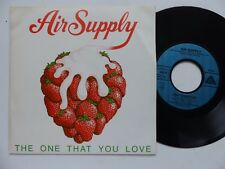 AIR SUPPLY The one that you love 103219 Pressage France Discotheque RTL