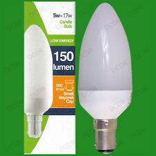 12x 5W Basse Consommation économie d'énergie LCF Ampoule Type Bougie Petit