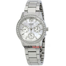 Citizen Mother of Pearl Dial Swarovski Crystals Ladies Watch ED8090-53D