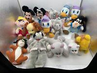 Lot of 15 Vintage 1984 Hardee's Disney Mickey's Christmas Carol Plush & More
