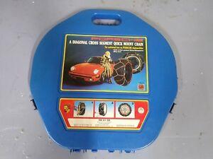 Vintage Porsche tire chain kit - 911 930 928 944