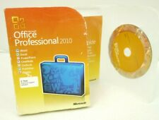 Microsoft Office Professional 2010 32/64 Bits, French/FRANCAIS Retail Box DVD
