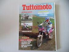 TUTTOMOTO 6/1991 YAMAHA XTZ 660 TENERE'/SUZUKI DR 650 RSE/800/APRILIA PEGASO 125