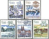 Schweiz 1227-1231 (kompl.Ausgabe) postfrisch 1982 Tierkreiszeichen