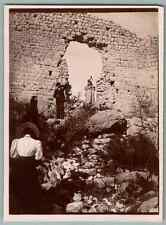 France, Thorenc (Andon), Castellaras  Vintage citrate print.  Tirage citrate