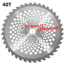40Tooth 255mm Universal Metal CIRCULAR SAW BLADES ROTARY BLADE TOOL CUTTING DISC