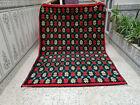 Handmade Moroccan Vintage Beni Ourain Wool Carpet Azilal Berber Tribal Rug