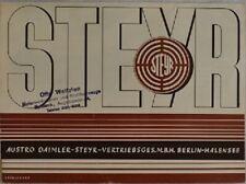 Steyr Prospekt 30er Jahre.