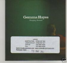(C951) Gemma Hayes, Hanging Around - DJ CD