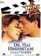 PHIR BHI DIL HAI HINDUSTANI (SHAHRUKH KHAN, JUHI CHAWLA) ~ BOLLYWOOD DVD