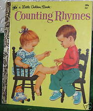 COUNTING RHYMES #361 LGB 7TH PRINT 1974