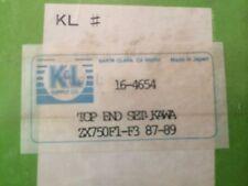 top end Gasket Kit KAWASAKI zx750  1987-89 #16-4654