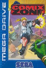 ## komplett NEUWERTIG: SEGA Mega Drive - Comix Zone + Audio CD / MD Spiel ##