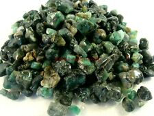 Natural Rough EMERALDS Mini Size, 1/2 Lb Lots, Nice Mine Run Material OLD STOCK